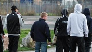 Teenagers in Bristol