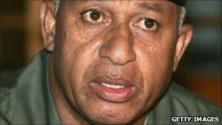 Commodore Frank Bainimarama - December 2006