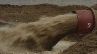 Sand dredger