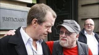 Michael Hamilton and Ian McNicol