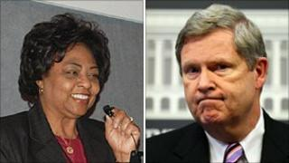 Shirley Sherrod and Tom Vilsack