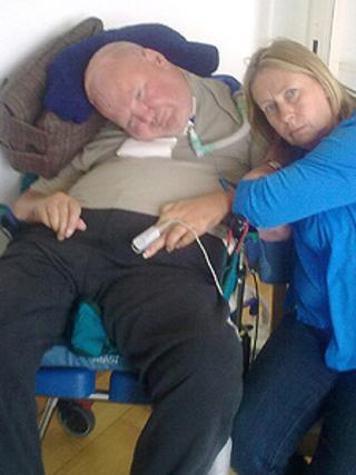 Tim Joplin and his wife, Ruth