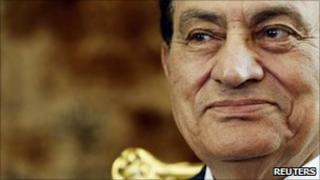 Hosni Mubarak 21.7.10
