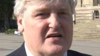 Councillor Cliff Morris, Leader of Bolton Council