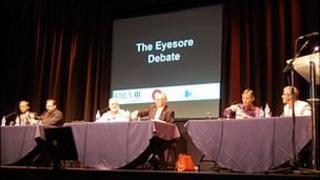 Guernsey's eyesore debate at Beau Sejour