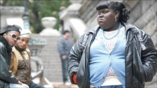 Gabourey Sidibe as the title character in Precious
