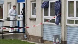 Perth murder scene