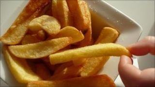 Chips (BBC file photo)