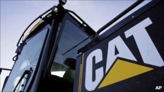 Caterpillar equipment