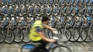 Bikes for London's new rental scheme