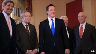 John Kerry, Harry Reid, David Cameron, Richard Luger, Frank Lautenberg