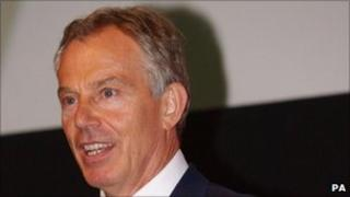 Tony Blair pictured earlier this week