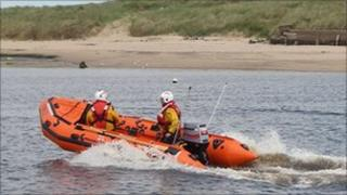 Amble lifeboat Mildred Holcroft