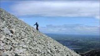 Many pilgrims choose to climb Croagh Patrick