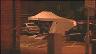 Scene of fatal stabbing in Blackpool Victoria Hospital car park