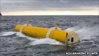 Oyster 1 undergoing sea trials