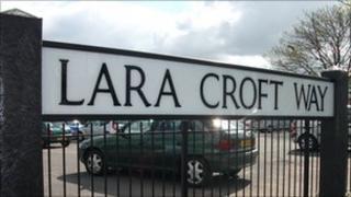 Lara Croft Way