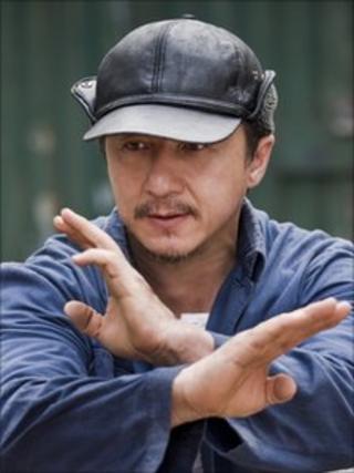 Jackie Chan in The Karate Kid