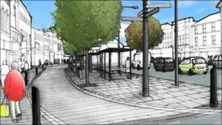 Artist's impression (image from Worcestershire County Council)