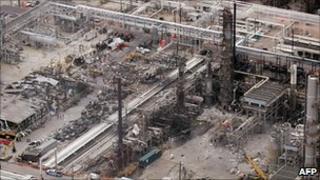 BP facility in Texas City, Texas