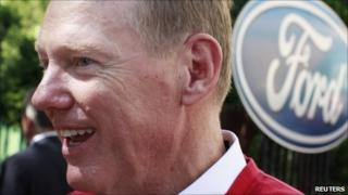 Alan Mulally, chief executive, Ford