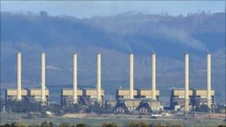 File image of Hazelwood power station east of Melbourne on 13 August 2009