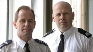 Sgt Torquil Campbell and Pc Stewart Ferguson