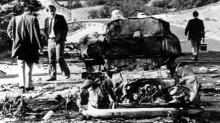 Scene of the massacre