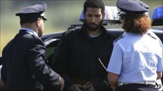Hussain Osman and Italian police