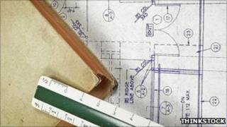 Blueprints (Stock photo)
