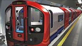 The new Victoria Line train