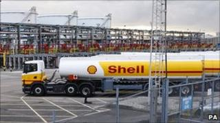Shell tankers