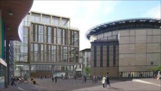 Edinburgh International Conference Centre (Artist's impression)