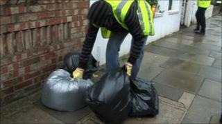Rubbish collector