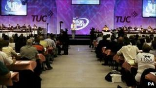 Delegates at the 2006 TUC annual congress