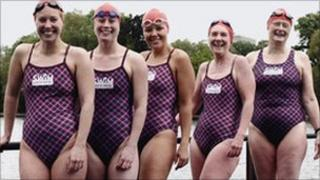 Serpentine Club swimmer
