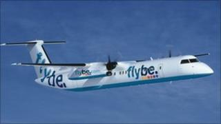Flybe aircraft (generic image)