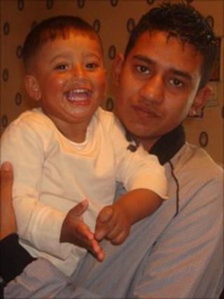 Waqar Alyas and his nephew Abu Abu Baker