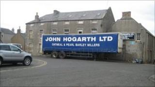 John Hogarth lorry