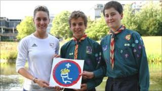 Amy Williams, Josh Forster and Ethan Rose - Richard Wood
