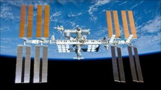 International Space Station (Nasa image from May 2010)