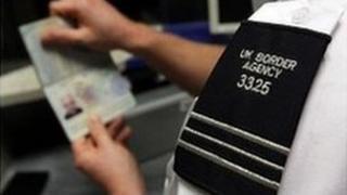 UK Border Agency official