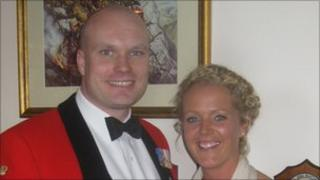 Chris Chacksfield and his wife Adele
