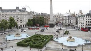 The Maze at Trafalgar Square
