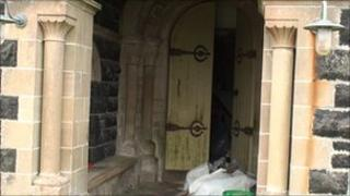 Entrance to St Edwards Chapel