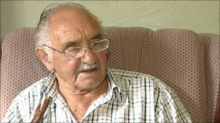 Ron Webber from Berkswell who has been stranded by the loss of the number 82 bus service to his nearest post office