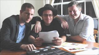 Chris McFall, David Bower, and Chris Colton