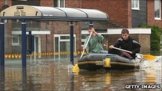 Toll Bar flood