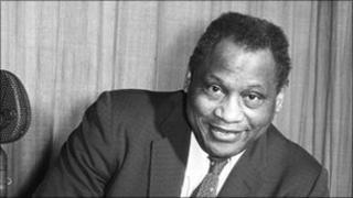 Paul Robeson pictured in 1958