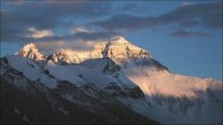 North side of Everest (John Semple)